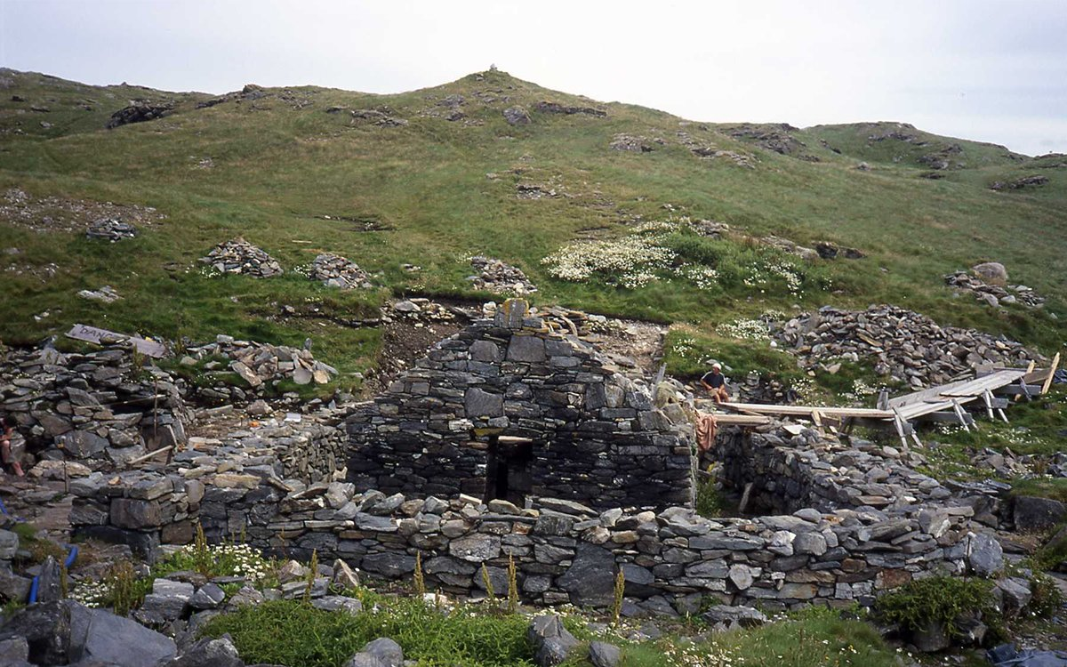 For Sale: A Private Irish Island With a 1,500-Year-Old Monastery
