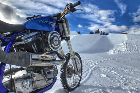 The Harley-Davidson Snow Hill Climb Is the X Games' Newest Spectacle