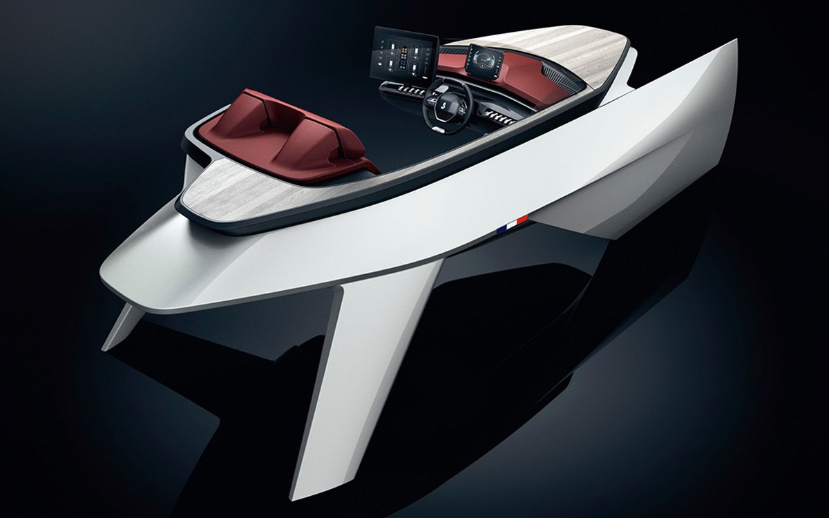Don't Call Peugeot's 'Sea Drive' Concept a Boat