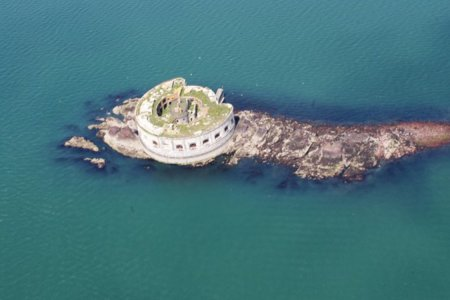 For Sale: One Decaying Military Fortress Fort Off the Coast of Wales