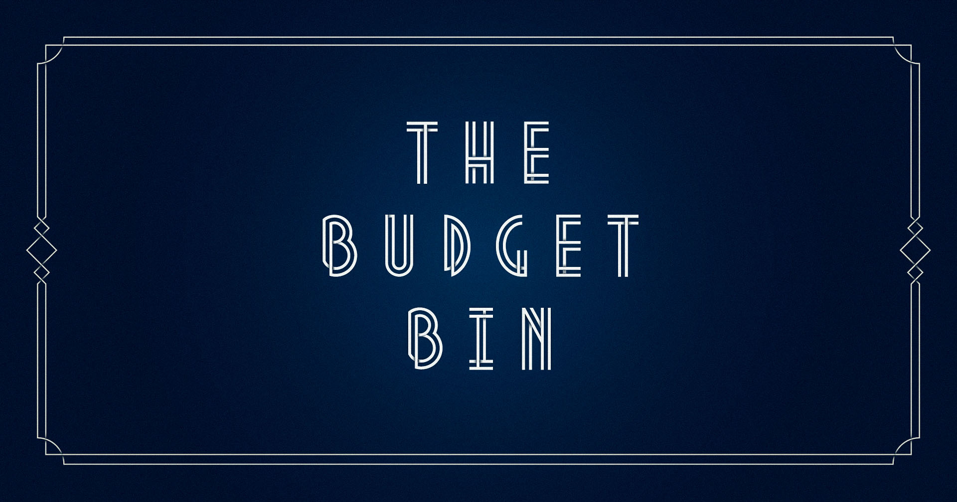 The Budget Bin