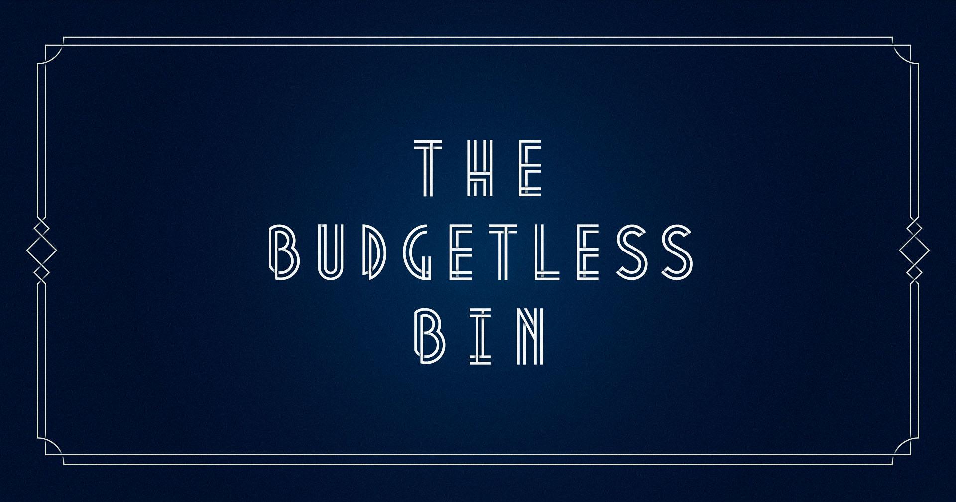 The Budgetless Bin