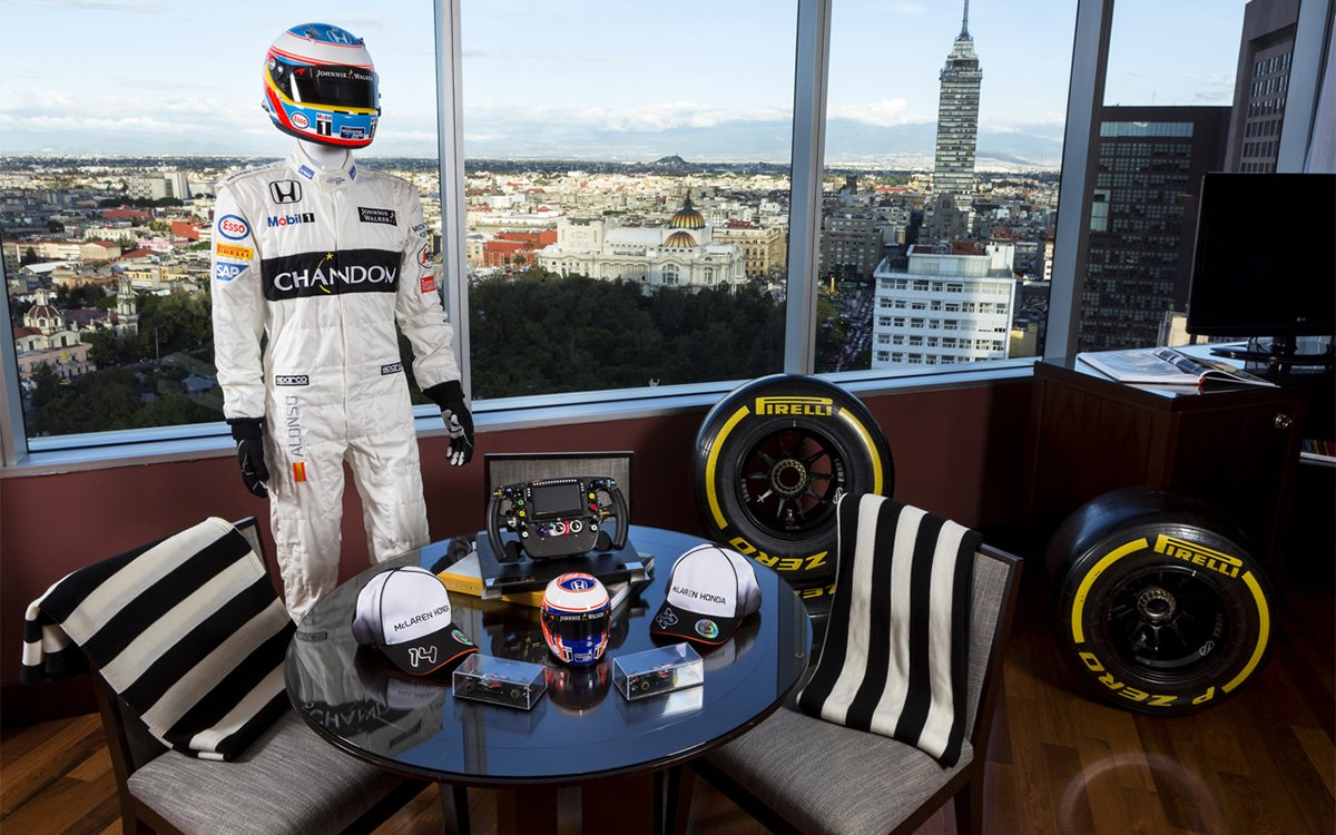 This McLaren-Honda-Themed Suite Is a Formula 1 Playground