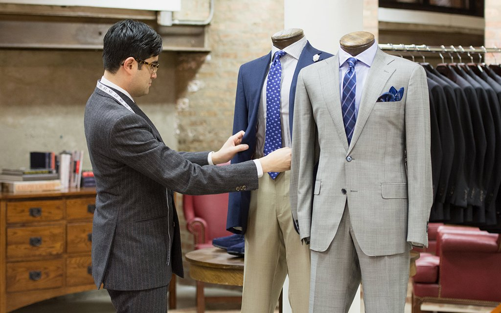 dd47cd4c The Five Best Custom Suit Shops in Chicago, Period - InsideHook