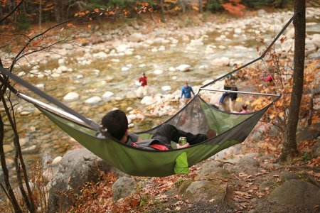 Finally, a Hammock That Doesn't Isolate You in a Cocoon of Your Own Making