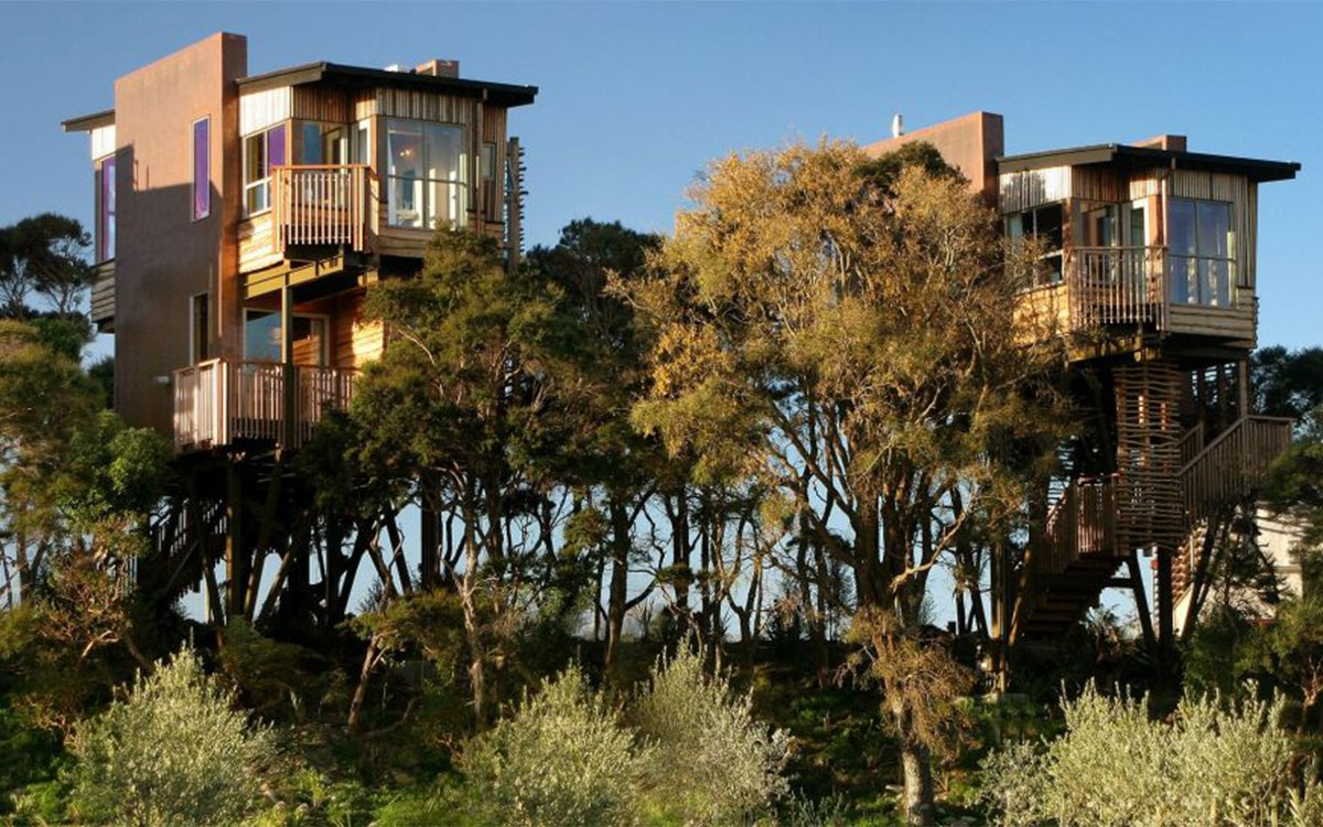 Five-Star Treehouse Colony in Paradise, Anyone?