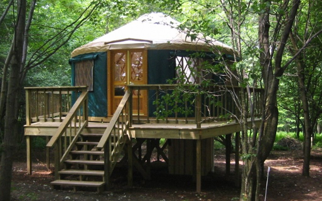 The Seven Best 'Glampsites' in the Tri-State Area - InsideHook