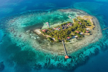 This Private Island in Belize Comes with Its Own Resort