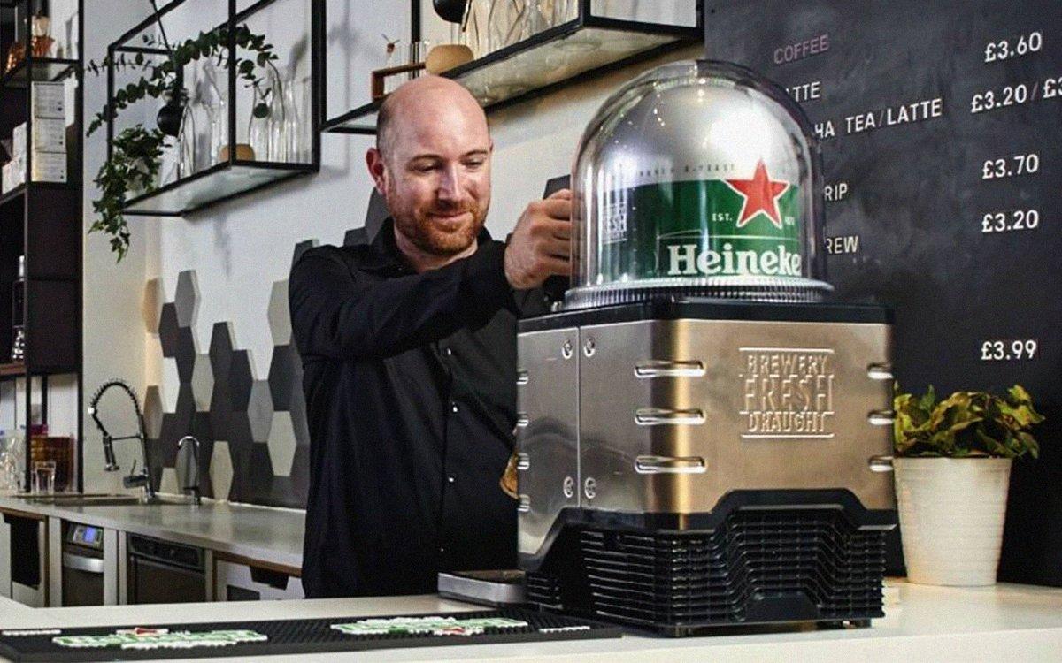 Heineken Blade Is The Quot Nespresso For Beer Quot Insidehook