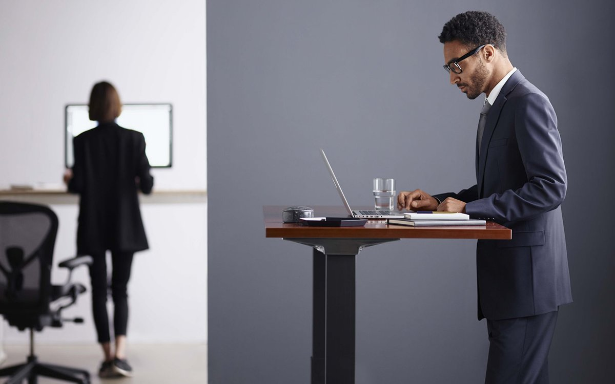 When the World's Most Iconic Chairmaker Goes Standing Desk, It's Time