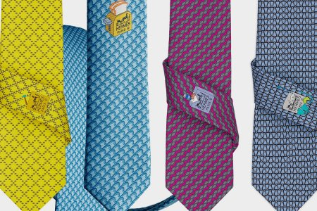 An Hermès Tie Subscription Is a Ruthless Power Move