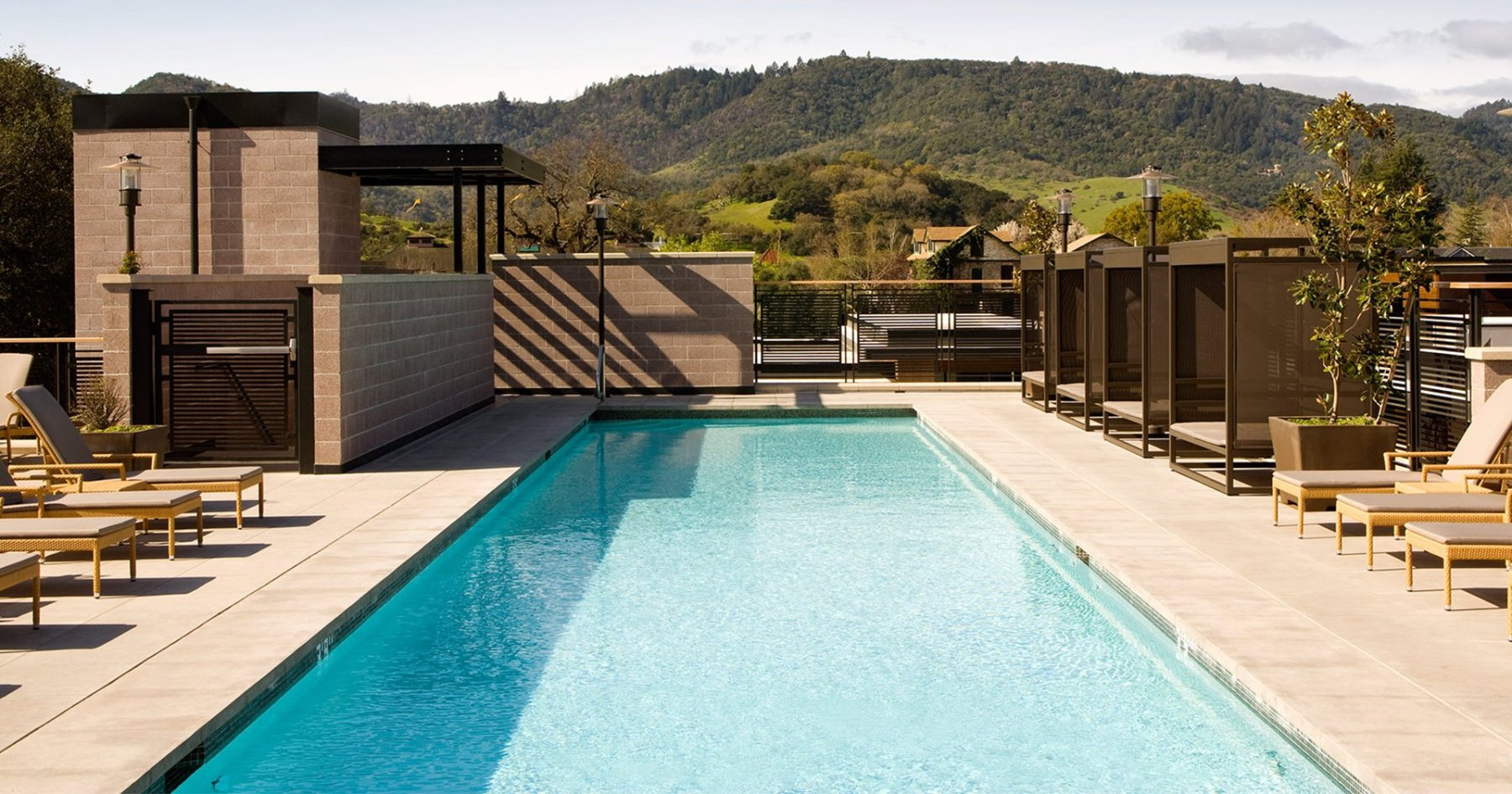 5 Spectacular Wine Country Hotel Pools Worth the Overnight