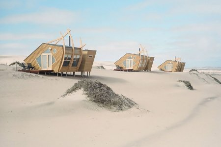 Double-Dog Dare You to Stay at Shipwreck Lodge Off Namibia's Skeleton Coast