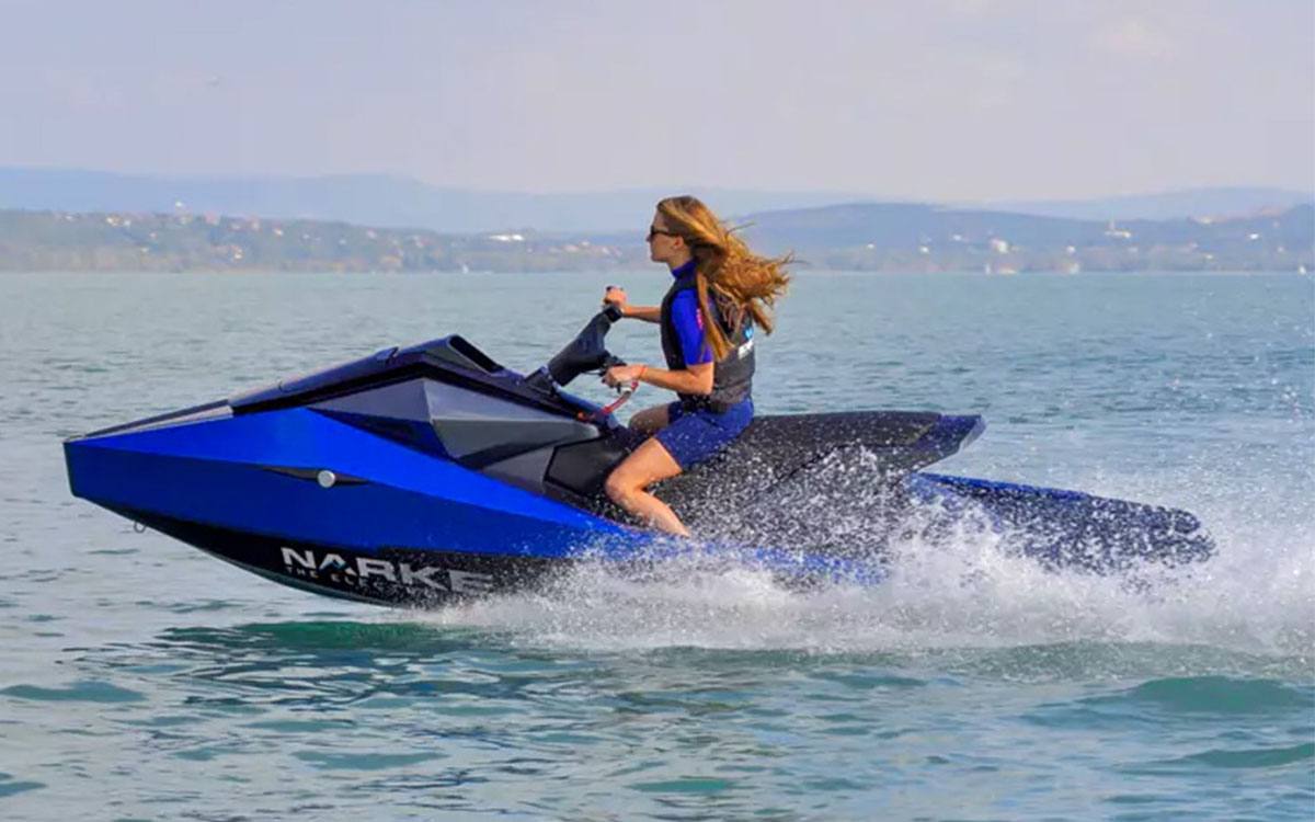 The Future of Jetskis Is an Electric Straight Out of 'Wave Race 64'