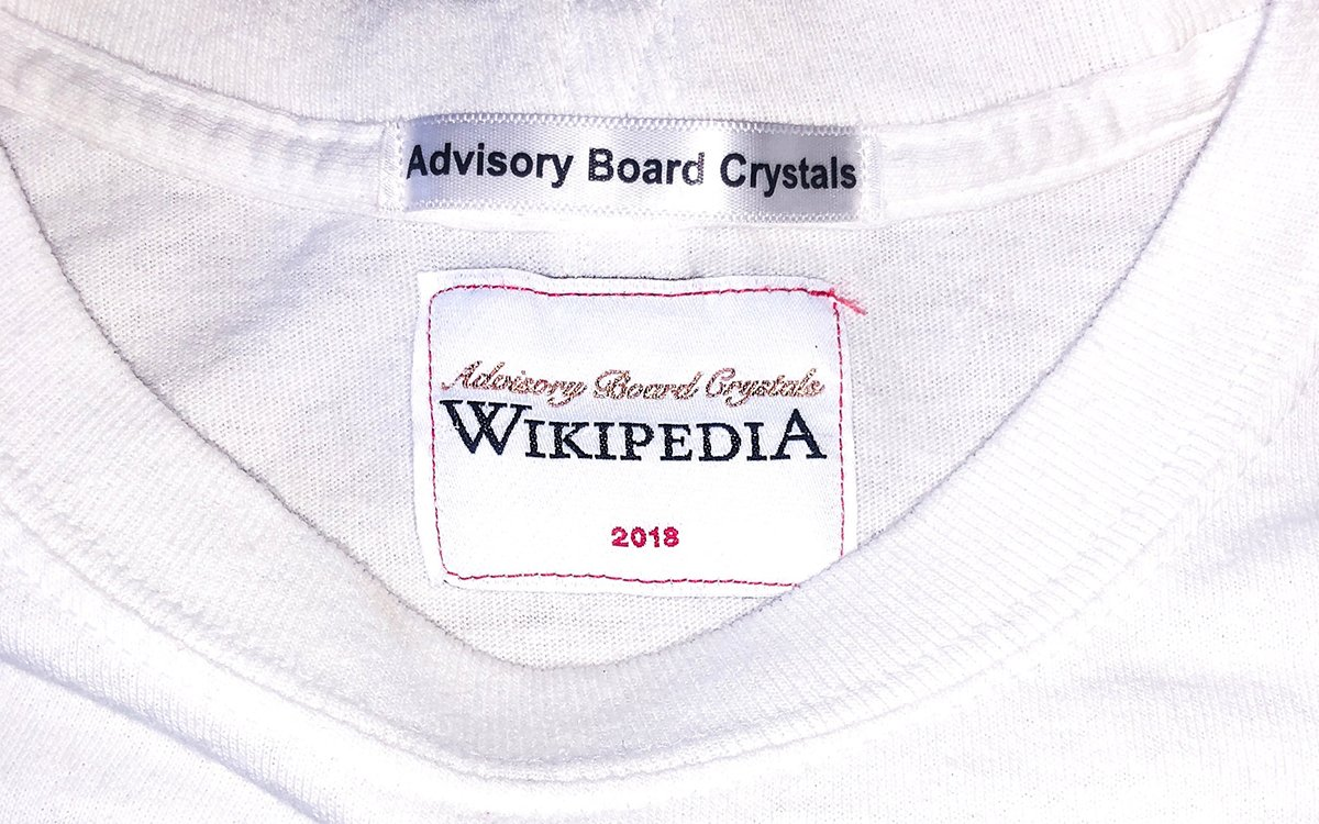 Wikipedia Just Dropped Their First Streetwear Collab