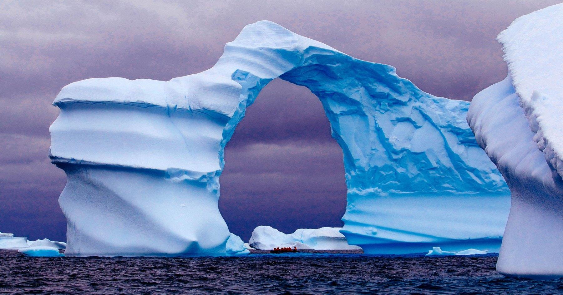 Now Boarding: Business Class Flights to Antarctica