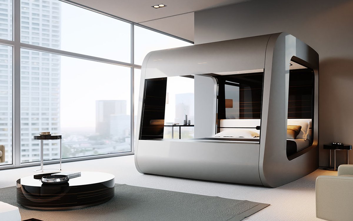 It's Like a Race-Car Bed for Adults