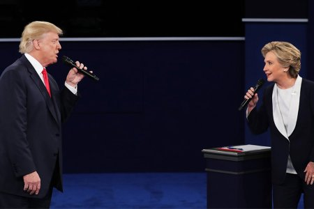 At Least the Debate Gave Us These Pulitzer-Worthy Memes of Trump and Hillary Singing Duets