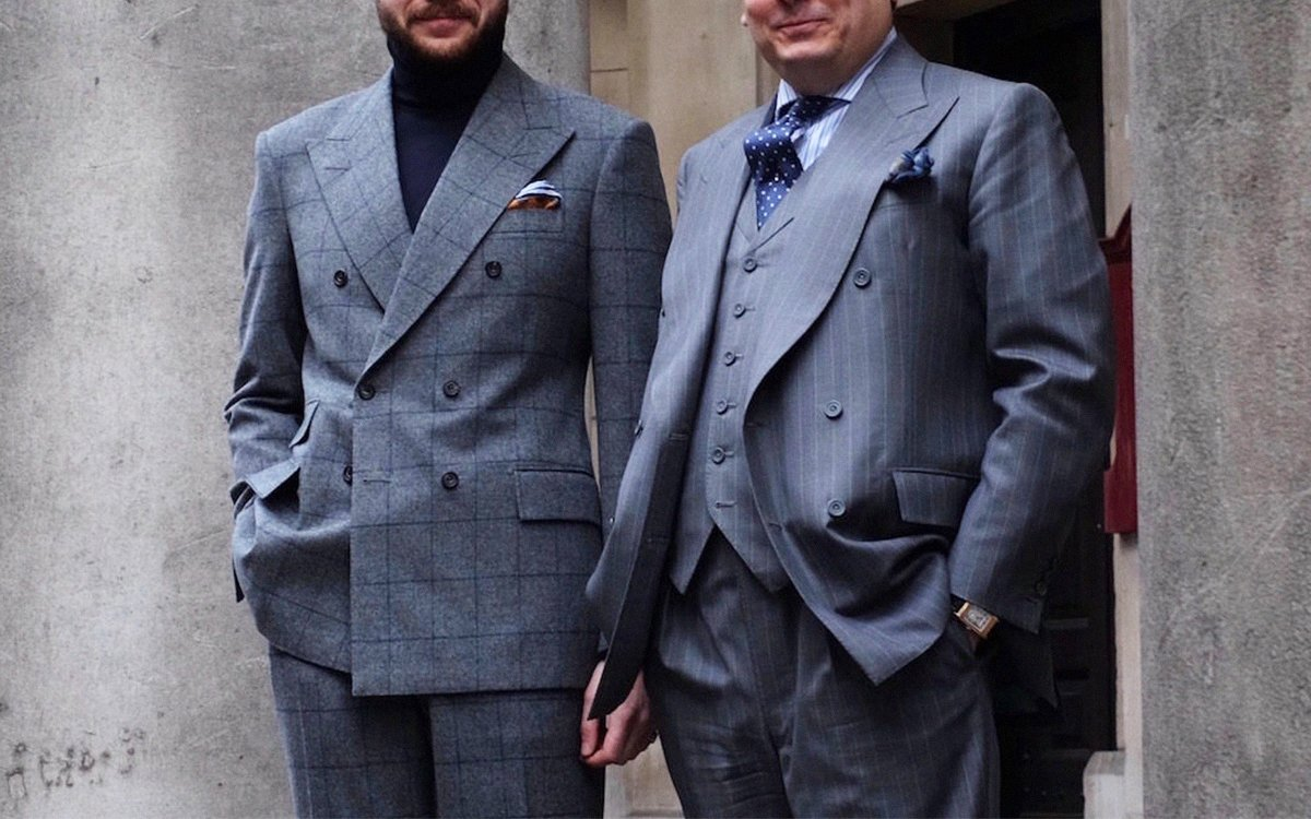 We Asked a Savile Row Tailor How to Break All the Rules of Suiting