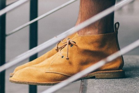 This Handsome Desert Boot Packs Down to Almost Nothing
