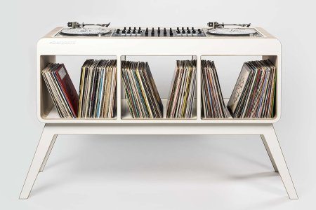 This DJ Stand Is So Cool You'll Want Be A DJ