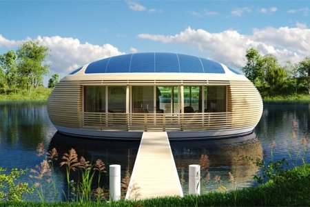 Land Is Expensive. Buy This Floating House Instead.