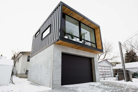 Shipping Container on the Outside, Immaculate Modern Home on the Inside