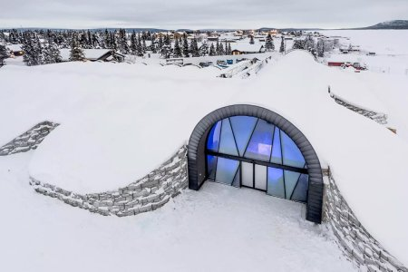 A Year-Round Ice Hotel Just Opened for People Who Like Shivering