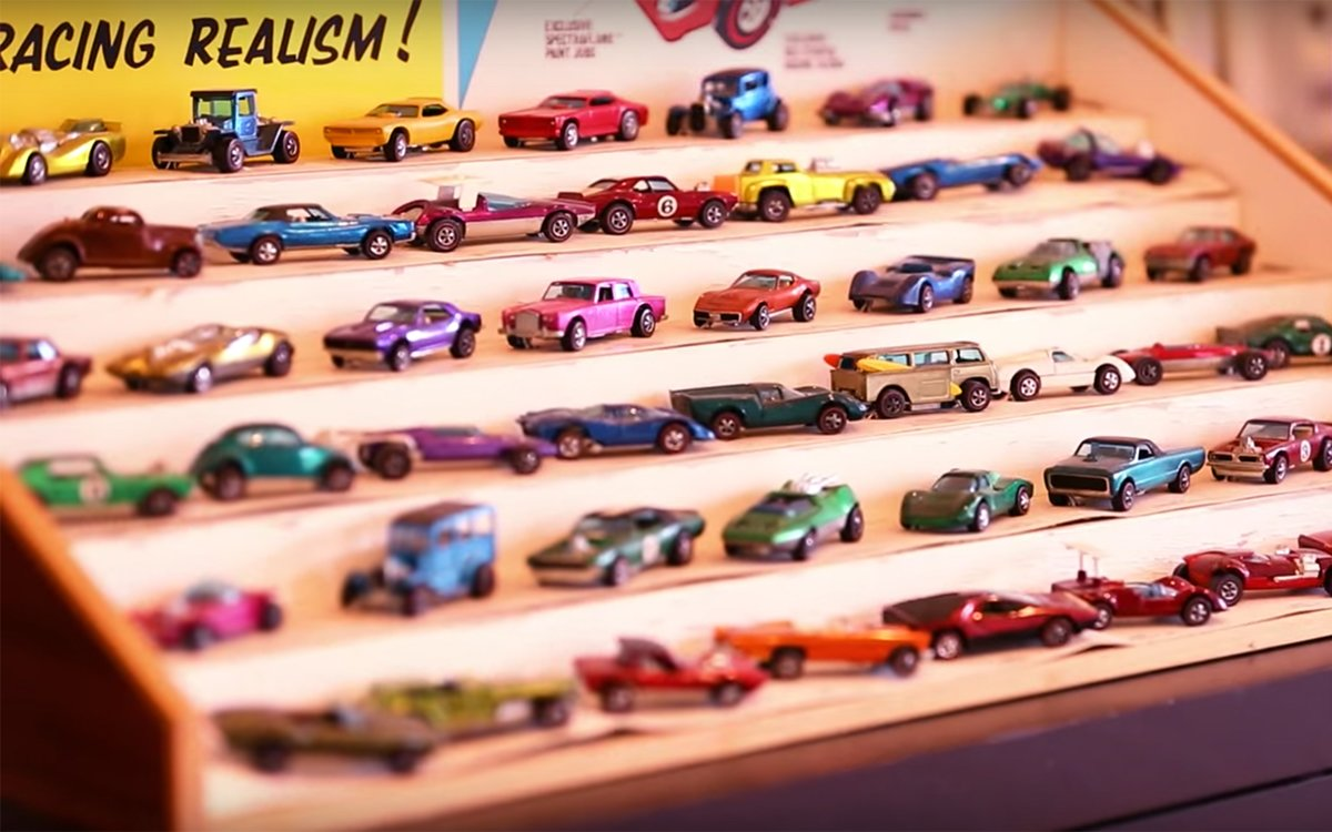 So That's What a $1 Million Hot Wheels Collection Looks Like
