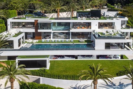 This $250M Mega-Mansion Comes With God's Car Collection