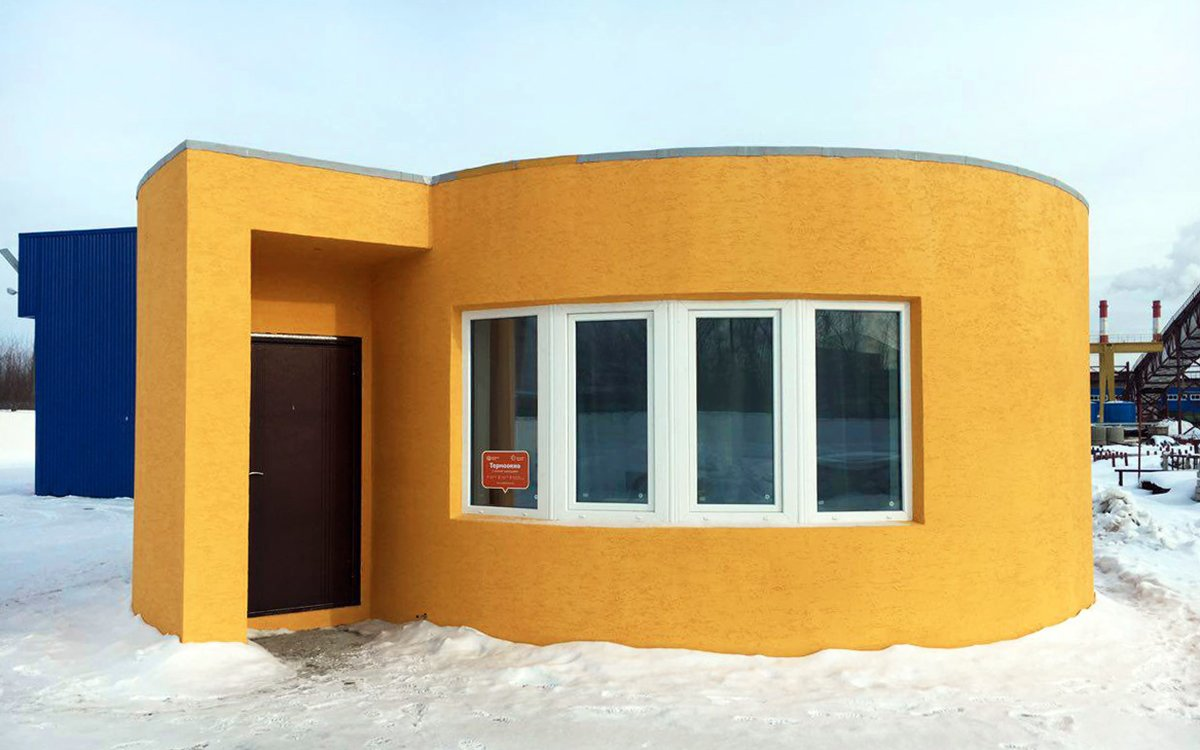 A 3D-Printed Home That Takes 24 Hours and 10K to Build? Go On …