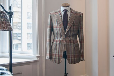 One of Savile Row's Premier Suitsmiths Sets Up Shop in NYC