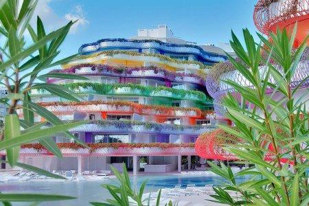 This Kaleidoscopic Island Xanadu Has Exactly One Hotel Room