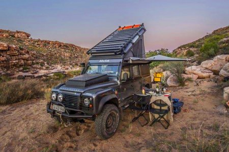 The MacGyver of Land Rovers Is a Doomsday Prepper's Dream