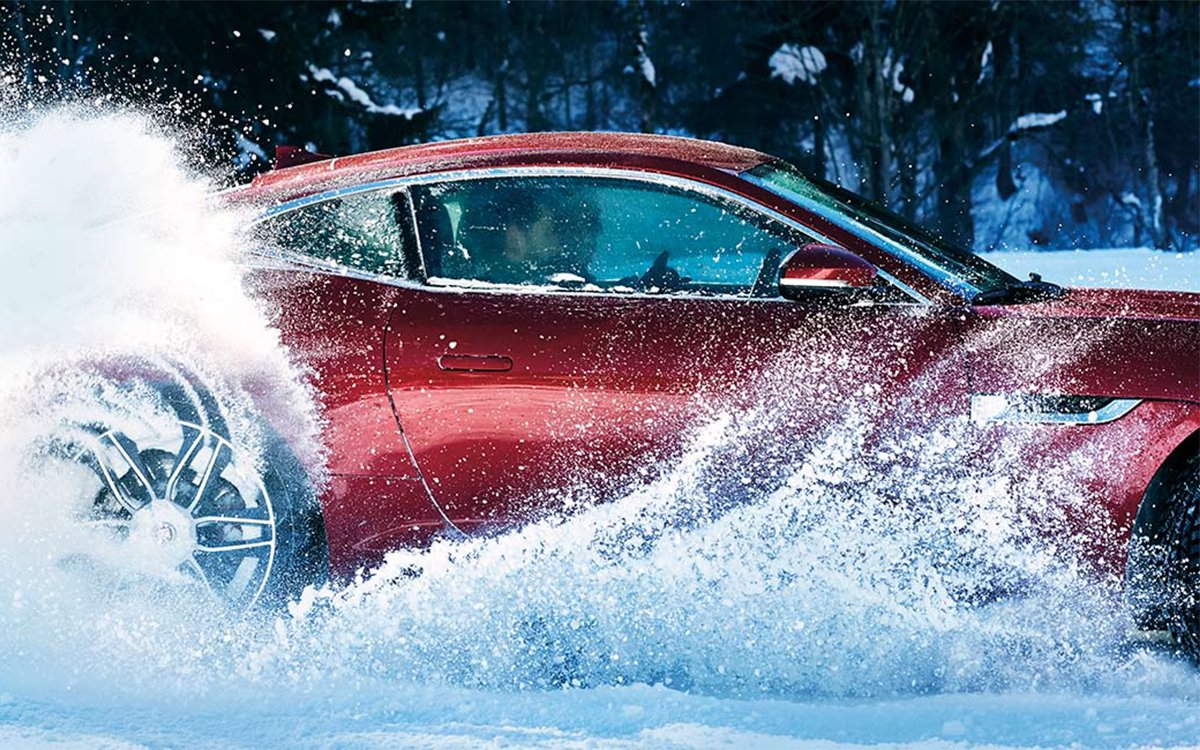 How Would You Like to Drive a Jaguar or a Land Rover on Arctic Circle Ice?