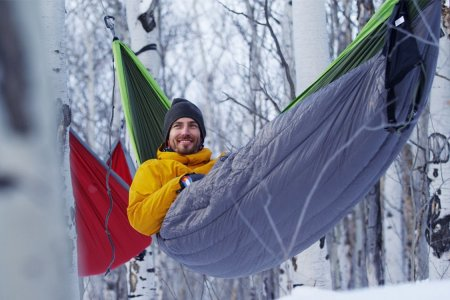 This Is a Zero Degree-Rated 'Winter' Hammock. It Is for Lunatics.