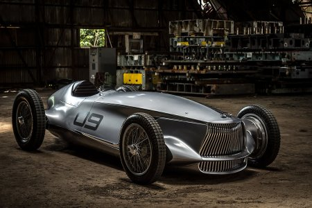 Infiniti Just Built a Badass 1940s Roadster With an Electric Engine