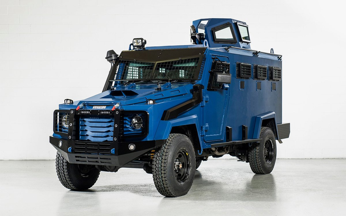 A Grenade/Bulletproof Land Cruiser. How Practical.