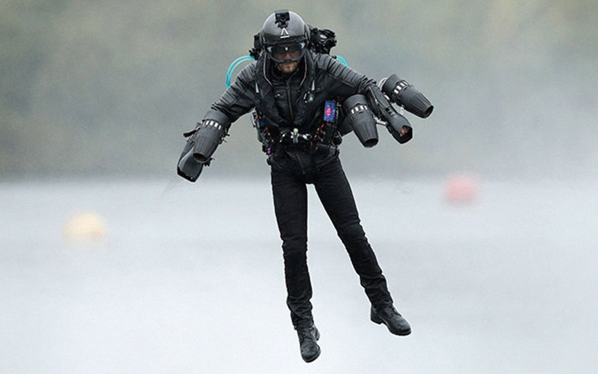 British 'Iron Man' Sets Jet Pack Record, Looking for Others to Fly With