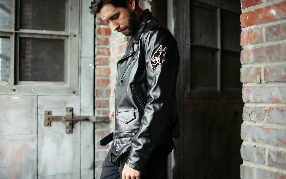 fc6d446b9871 The World's Coolest Leather Jacket Just Got an Extra Dose of Toughness