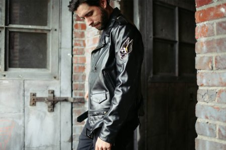 The World's Coolest Leather Jacket Just Got an Extra Dose of Toughness
