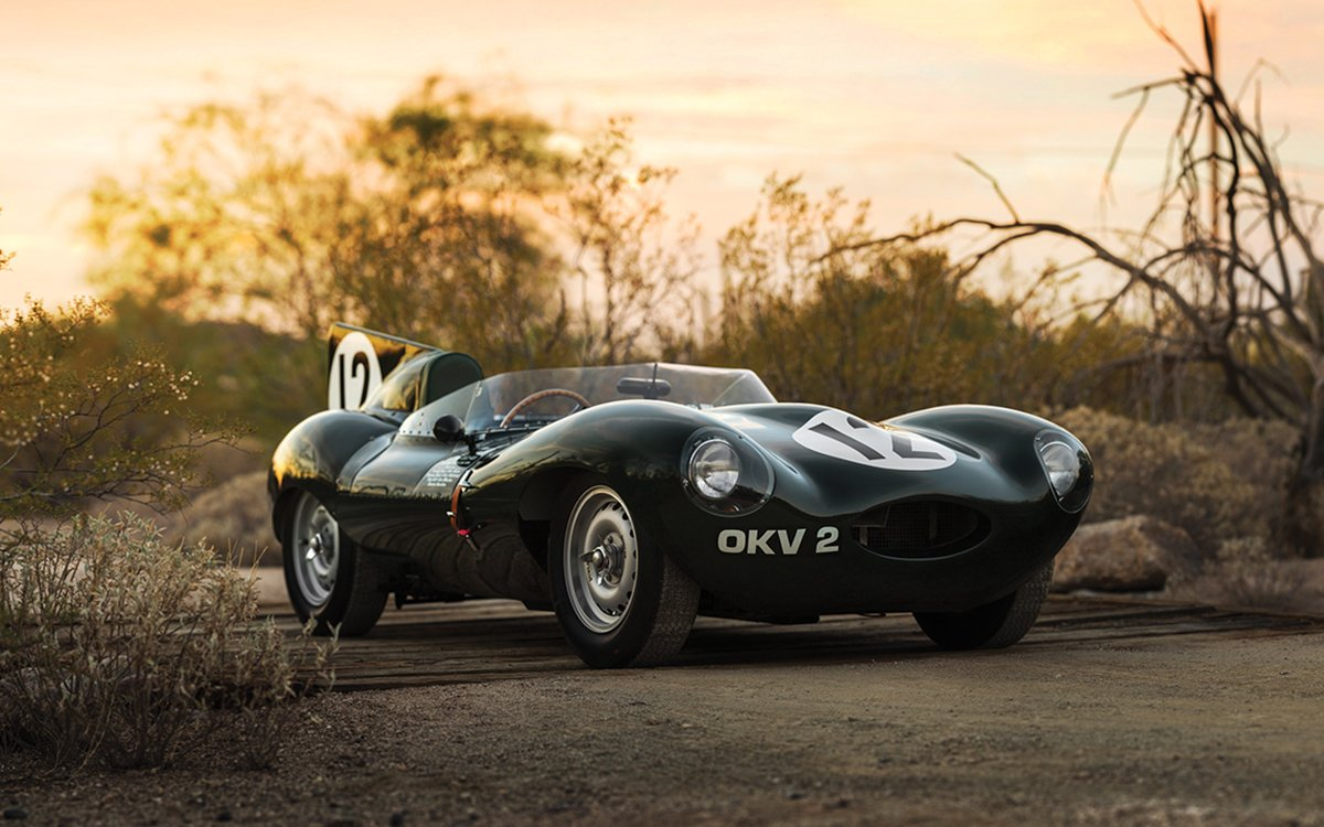 Is This '54 Jag the Prettiest Car Stirling Moss Ever Piloted?