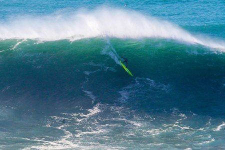 Watch Jamie Mitchell Surf a 40-Foot Behemoth, Claim the WSL's First Big Wave Title