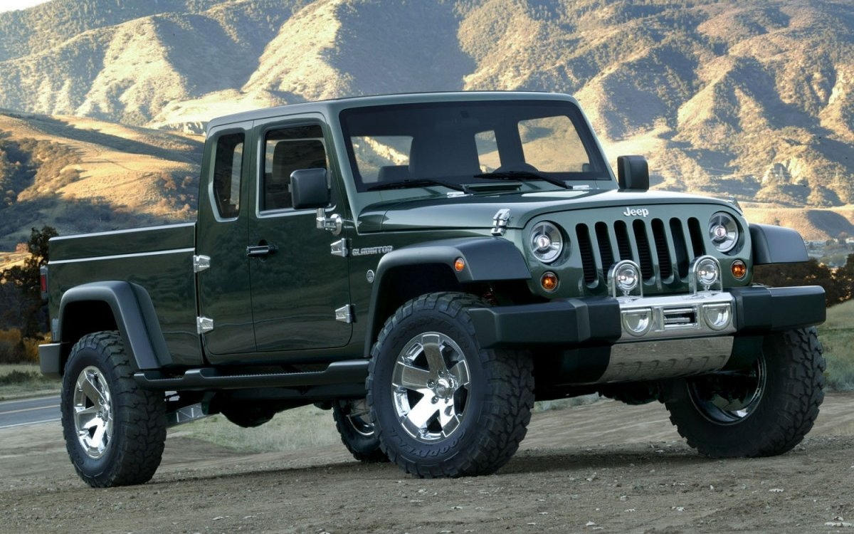 The Long-Awaited Jeep Wrangler Pick-Up Reveals Itself