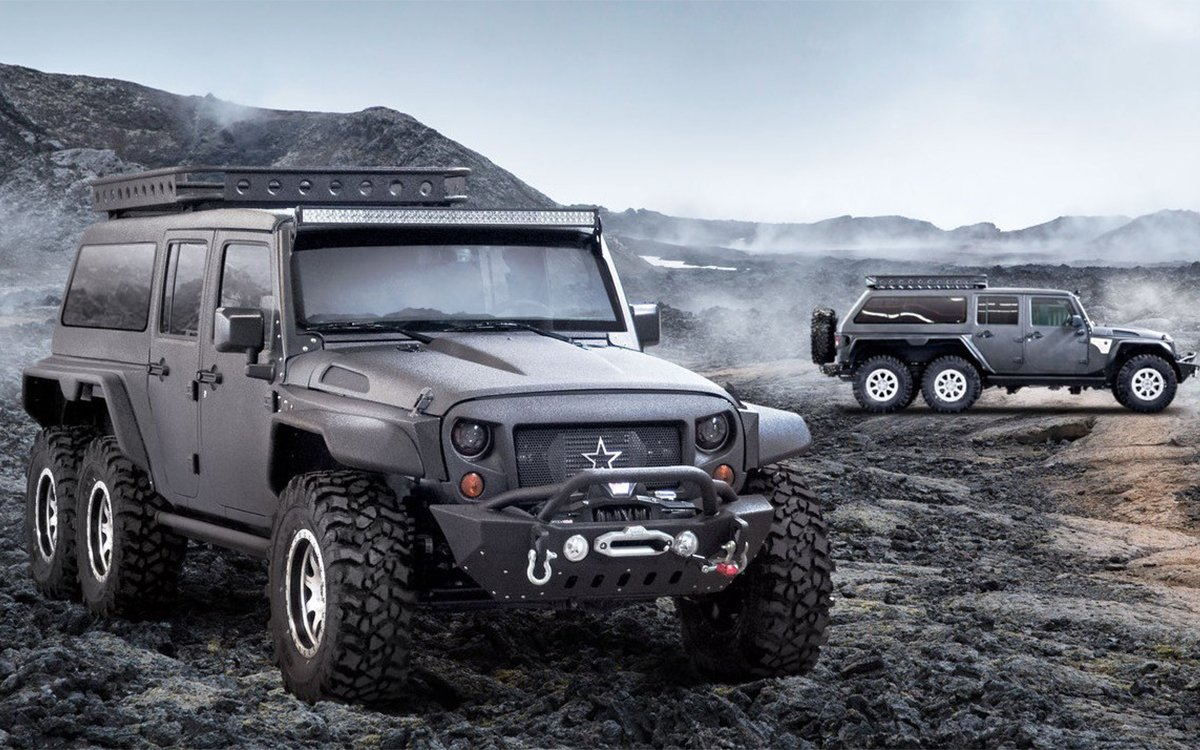 Good Jeep Names >> The G Patton Tomahawk Jeep From China Has Six Wheels