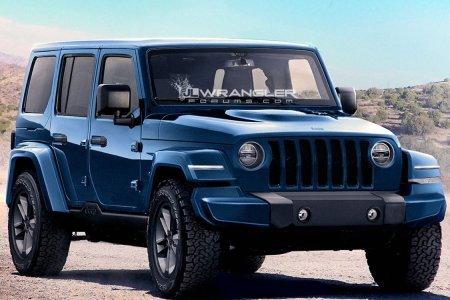 Fingers Crossed These Jeep Wrangler Mock-Ups Are Accurate