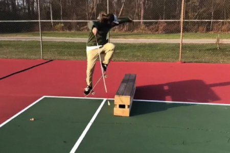 This Blind Dude Is Better at Skateboarding Than We'll Ever Be at Anything