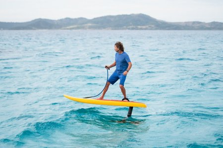 'Jetfoiling' Is Surfing Meets Magic Carpets