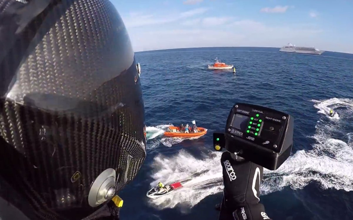 Too Busy to Go Jetpacking in Monaco? Here's the Next Best Thing.