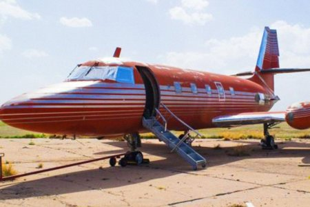 You Can't Help Falling in Love With Elvis Presley's Private Jet